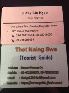 chauffeur et guide à Bagan